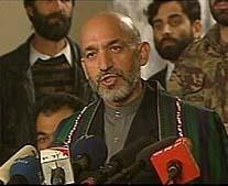 President Harmid Karzai